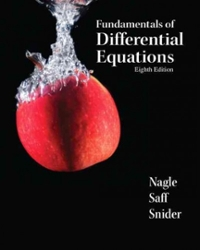 fundamentals of differential equations 9th edition chegg