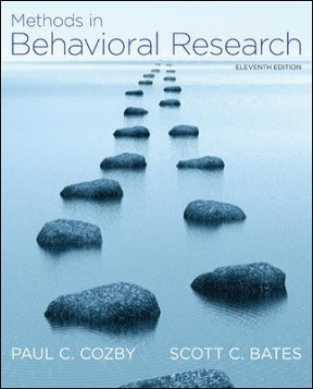 methods in behavioral research pdf