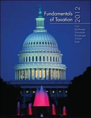 Fundamentals of Taxation 2012 5th edition 9780078025471 0078025478