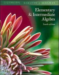 Combo: Hutchison's Elementary and Intermediate Algebra with MathZone Access Card (4th) edition 9780078092510 0078092510