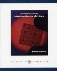 An Introduction to Semiconductor Devices (1st) edition 0072987561 9780072987560
