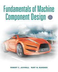 Fundamentals of Machine Component Design 5th edition 9781118214114 1118214110