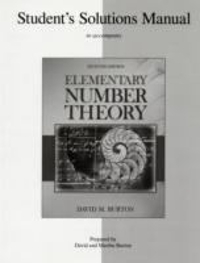 student s solutions manual elementary number theory 7th edition rh chegg com  elementary number theory burton 6th edition solutions manual pdf