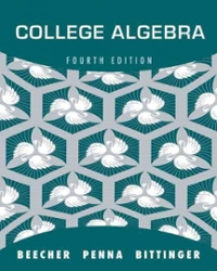 College Algebra (4th) edition 9780321639394 0321639391