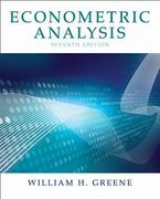 Econometric Analysis 7th edition 9780131395381 0131395386
