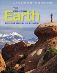 The Changing Earth (6th) edition 840062087 9780840062086