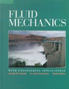 Fluid Mechanics With Engineering Applications 10th edition 9780072432022 0072432020