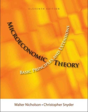 Microeconomic theory nicholson 11th
