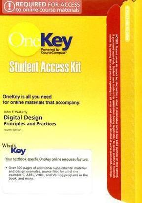 Digital Design Principles And Practices 4th Edition Rent