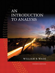 Introduction to Analysis 4th edition 9780132296380 0132296381