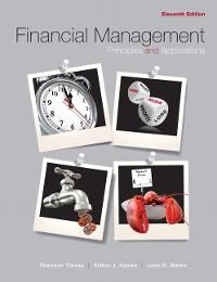 Financial Management (11th) edition 0132340356 9780132340359
