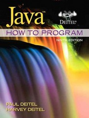 Java How to Program (early objects) 9th edition 9780132575669 0132575663