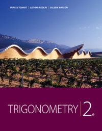 Trigonometry (Textbooks Available with Cengage Youbook) (2nd) edition 1111574480 9781111574482