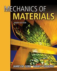 Mechanics of Materials 8th edition 9781111577735 1111577730