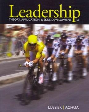 Leadership theory application skill development 5th edition leadership 5th edition 9781111827076 1111827079 fandeluxe Gallery