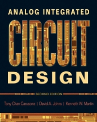 analog integrated circuit design 2nd edition textbook solutions rh chegg com analog integrated circuit design carusone solution manual design of analog cmos integrated circuit solution manual