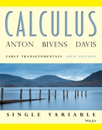 Calculus Early Transcendentals Single Variable (10th) edition 047064768X 9780470647684