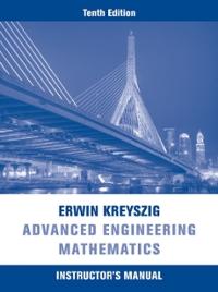 advanced engineering mathematics instructors manual  edition textbook solutions cheggcom