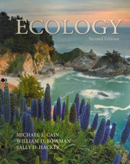 Ecology 2nd Edition 9780878936007 0878936009