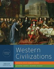 Western Civilizations, Brief 3rd Edition 9780393934878 039393487X