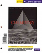 Chemistry: The Central Science, Books a la Carte Plus MasteringChemistry -- Access Card Package 12th edition 9780321787569 0321787560