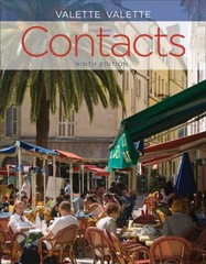 Contacts 9th Edition 9781133309581 1133309585