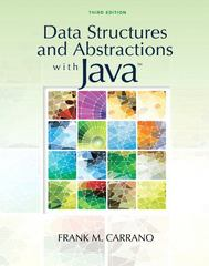 Data Structures and Abstractions with Java 3rd edition 9780136100911 0136100910