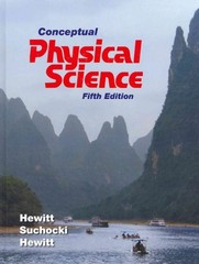 Conceptual Physical Science 5th edition 9780321753342 0321753348