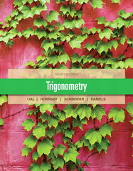 Trigonometry 10th edition 9780321671776 0321671775