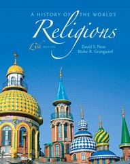 A History of the World's Religions 13th Edition 9780205167975 0205167977