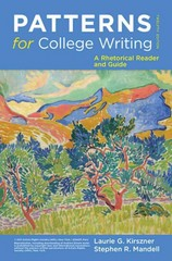 Patterns for College Writing 12th Edition 9780312676841 0312676840