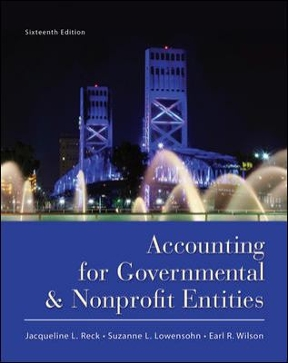 Accounting for governmental and nonprofit entities 16th edition accounting for governmental and nonprofit entities 16th edition fandeluxe Image collections