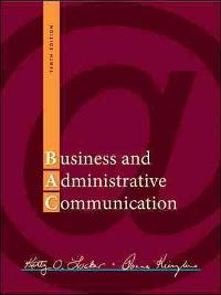 Business and administrative communication 11th edition textbook business and administrative communication 11th edition view more editions fandeluxe Gallery