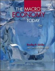 The Macro Economy Today 13th edition 9780077416478 0077416473