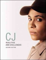 CJ: Realities and Challenges w/ Connect Plus and LearnSmart 1st Edition 9780077651138 0077651138