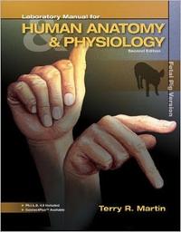 Fetal pig dissection lab book