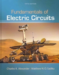Fundamentals Of Electric Circuits 5th Edition Textbook Solutions