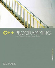 C++ Programming 6th Edition 9781285225579 1285225570