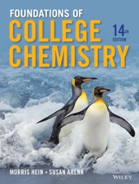 Foundations of College Chemistry 14th Edition 9781118133552 1118133552