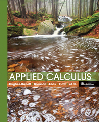 Applied Calculus 5th Edition 9781118174920 1118174925