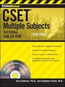 CliffsNotes CSET, with CD-ROM 3rd Edition 9781118176535 1118176537