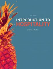 Introduction to Hospitality 6th Edition 9780132814652 013281465X