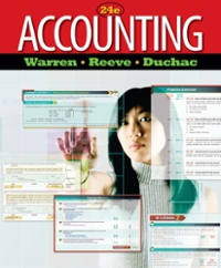 Accounting (24th) edition 1133171419 9781133171416