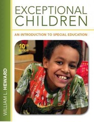 Exceptional Children 10th Edition 9780132626163 0132626160