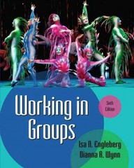 Working in Groups 6th Edition 9780205029372 020502937X