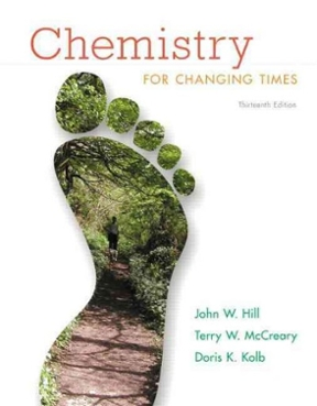 chemistry for changing times 14th edition pdf free