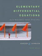 Elementary Differential Equations with Boundary Value Problems with IDE CD Package 2nd edition 9780321398505 0321398505