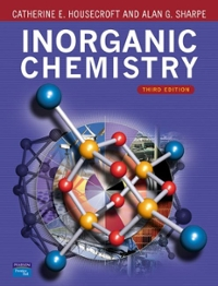 Housecroft Inorganic Chemistry (3rd) edition 0131755536 9780131755536