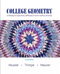 College Geometry (2nd) edition 9780131879690 0131879693