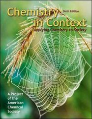 Chemistry in Context 6th edition 9780077221348 0077221346